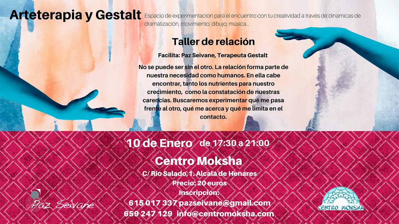 taller de relación terapia gestalt